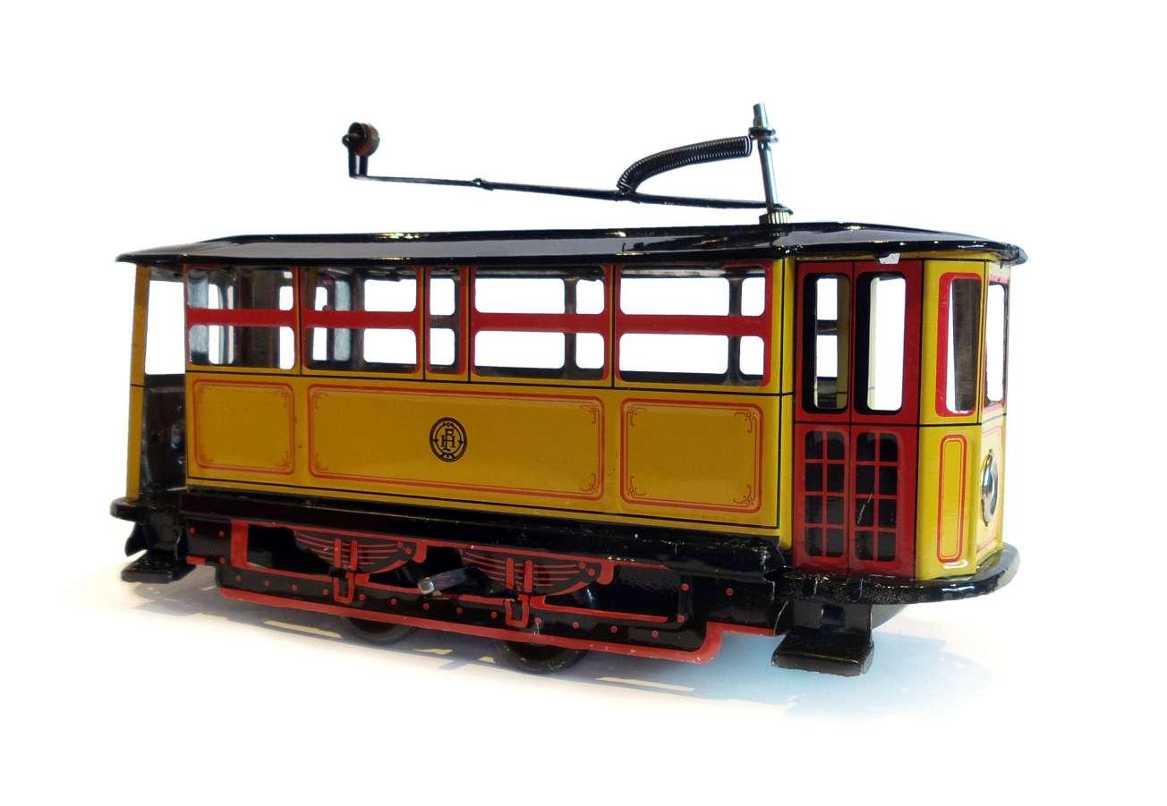 plechová tramvaj