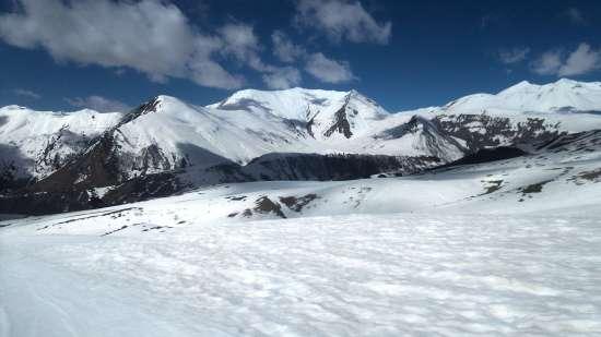 Zasnežené hory