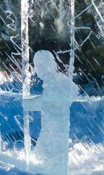 Ľadová socha