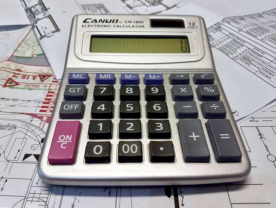 klasická kalkulačka