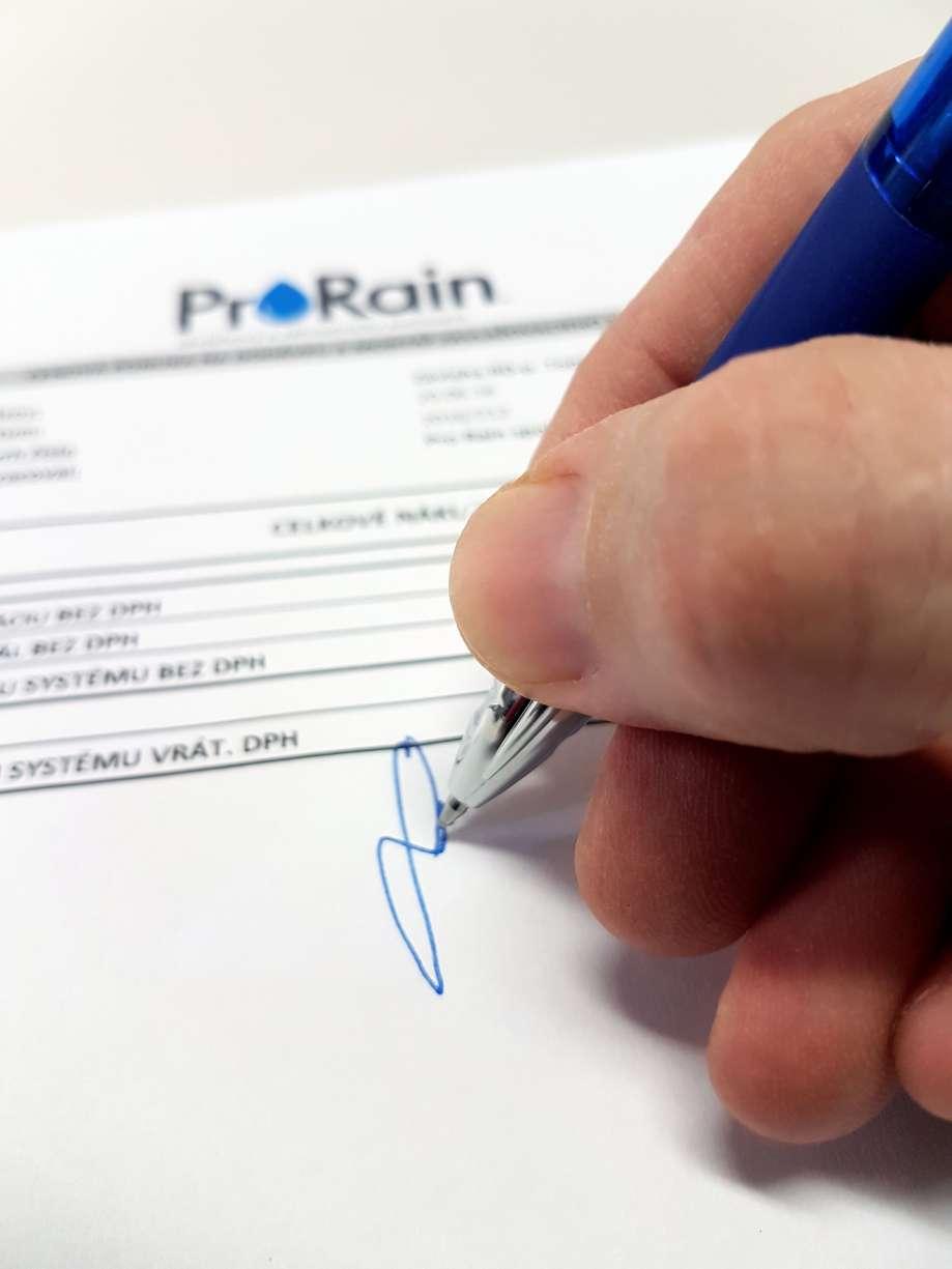 Podpis zmluvy
