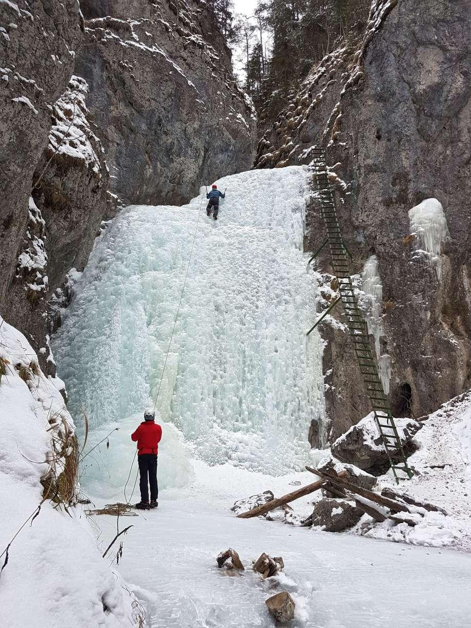 lezenie v ľade