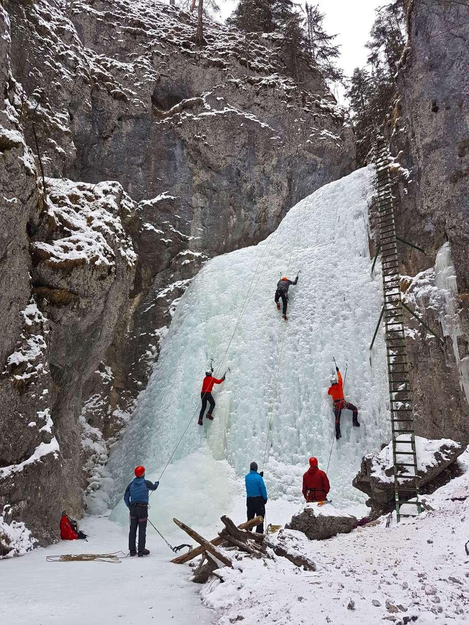 Piecky - Veľký vodopád - Slovenský raj