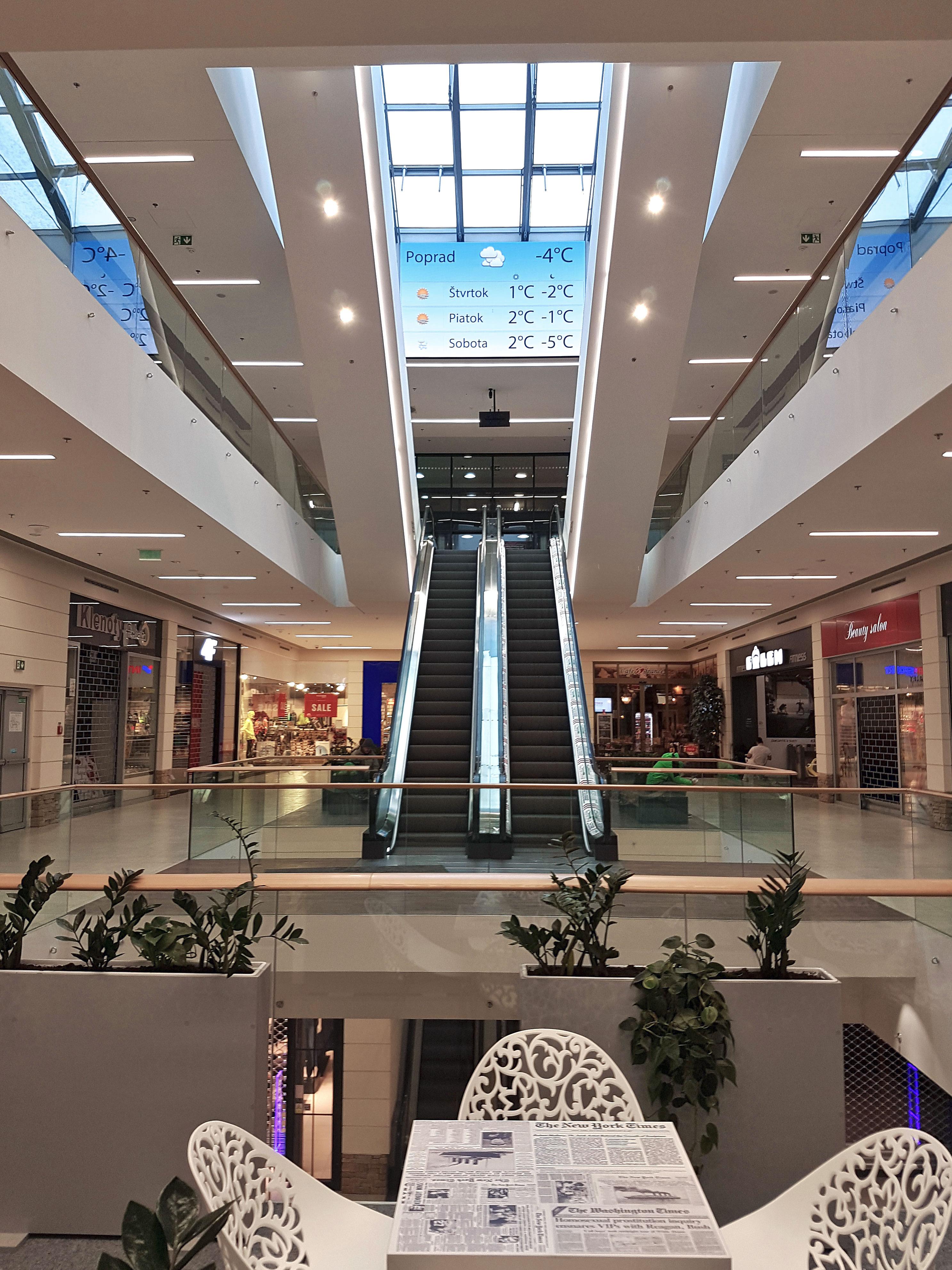 Nákupné centrum Poprad