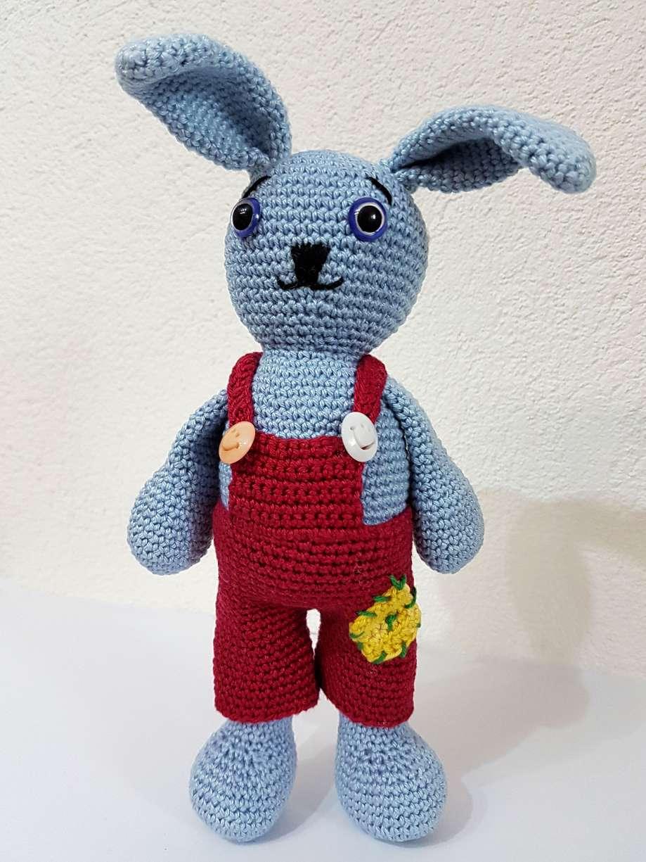 háčkovaný zajac