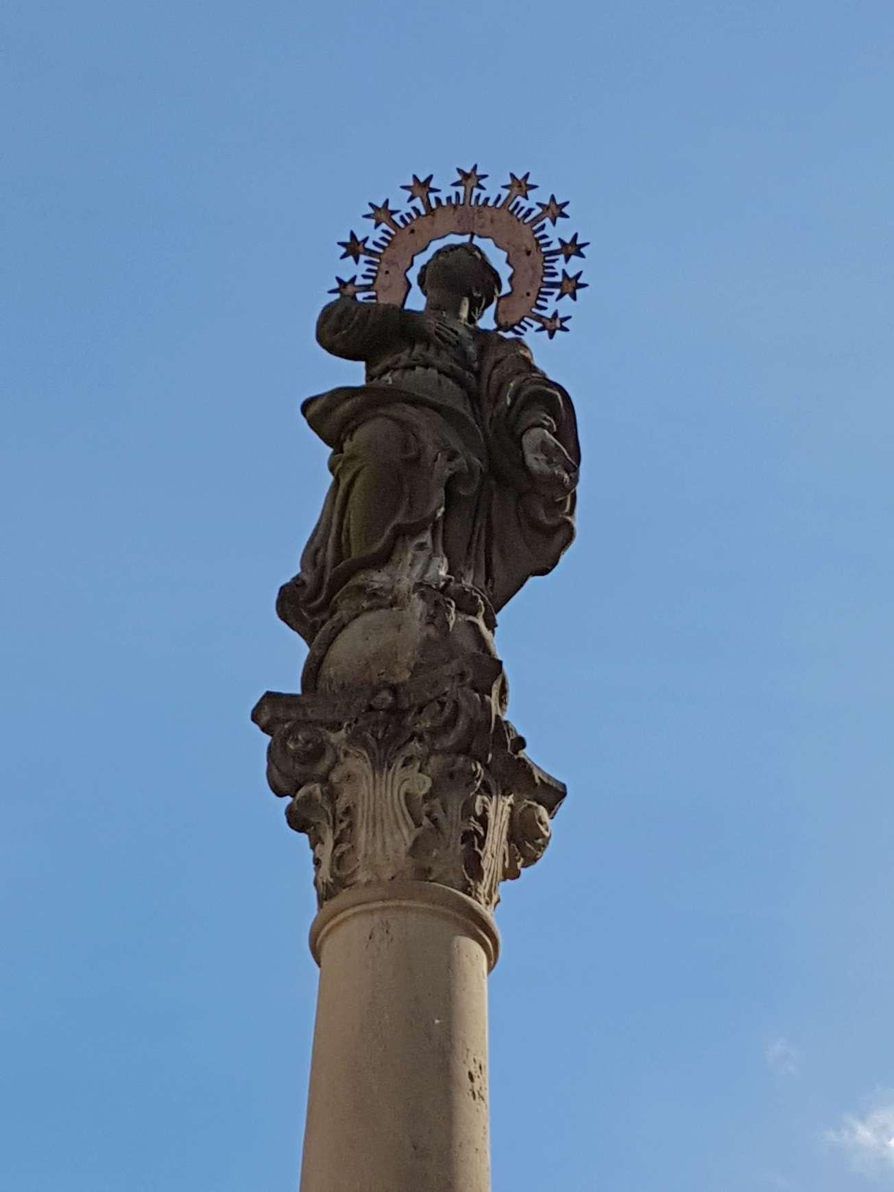 socha svätý Egídius