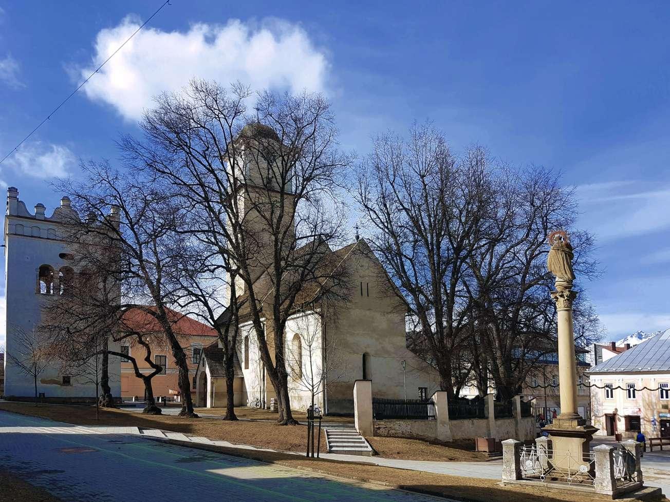 Námestie sv. Egídia v Poprade