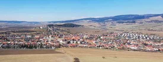 Panoráma Spišské Podhradie