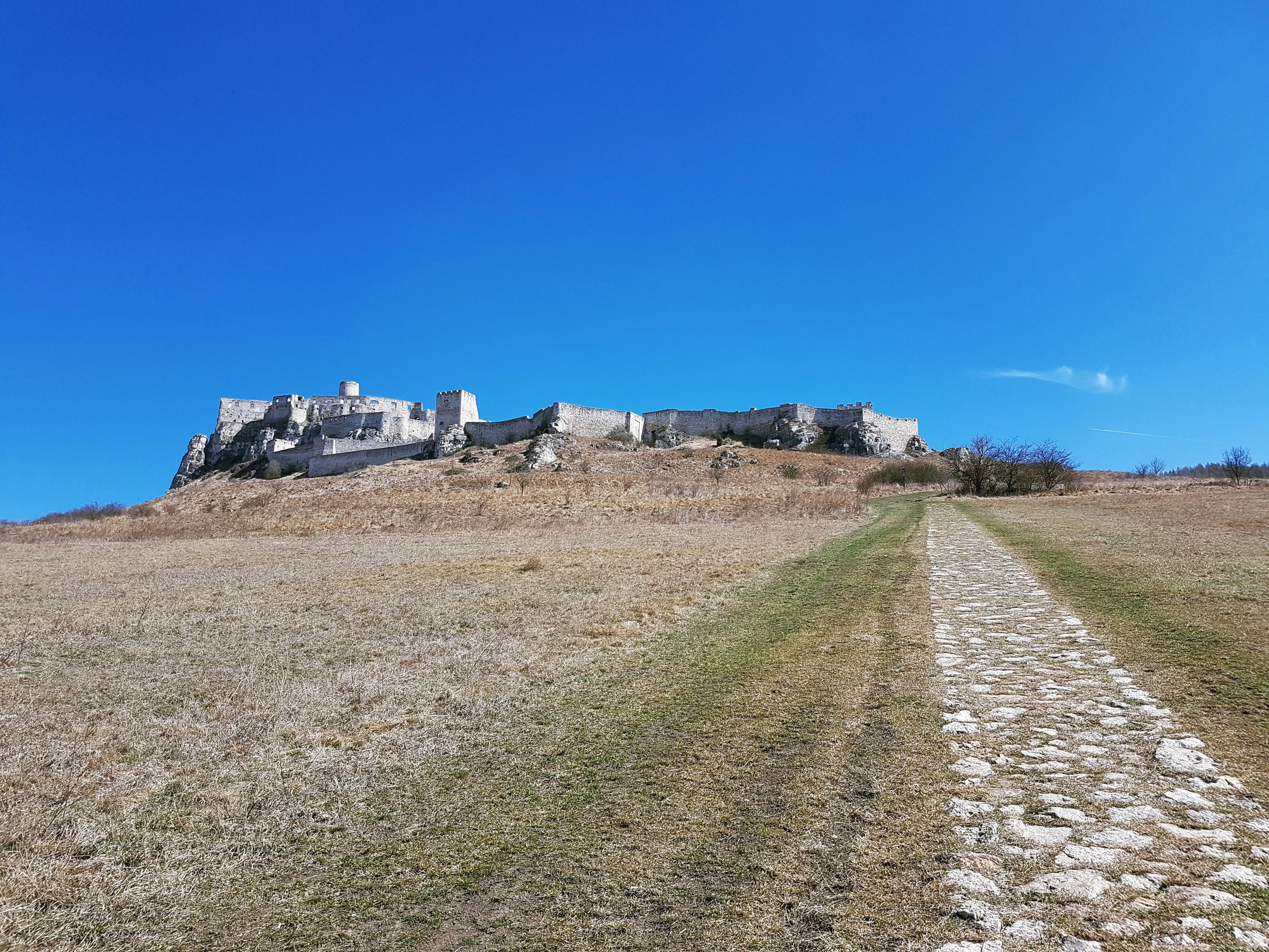 Spišský hrad - hradná zrúcanina