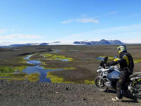 Cestovanie na motorke