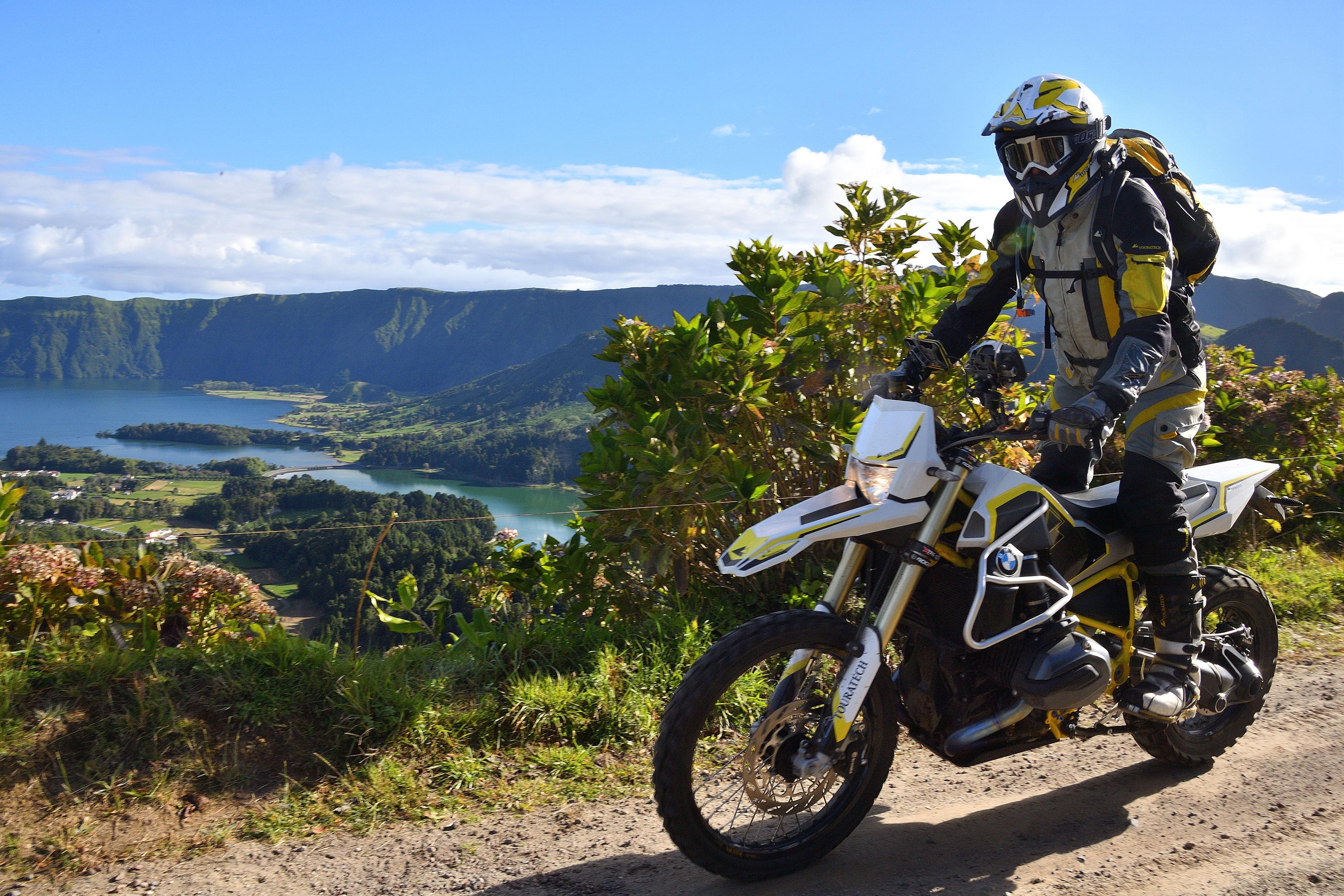 Výlety na motorke
