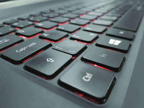 Podsvietená klávesnica