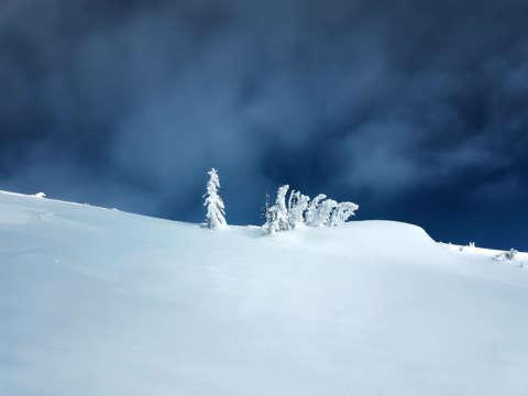 Zima na hrebeni