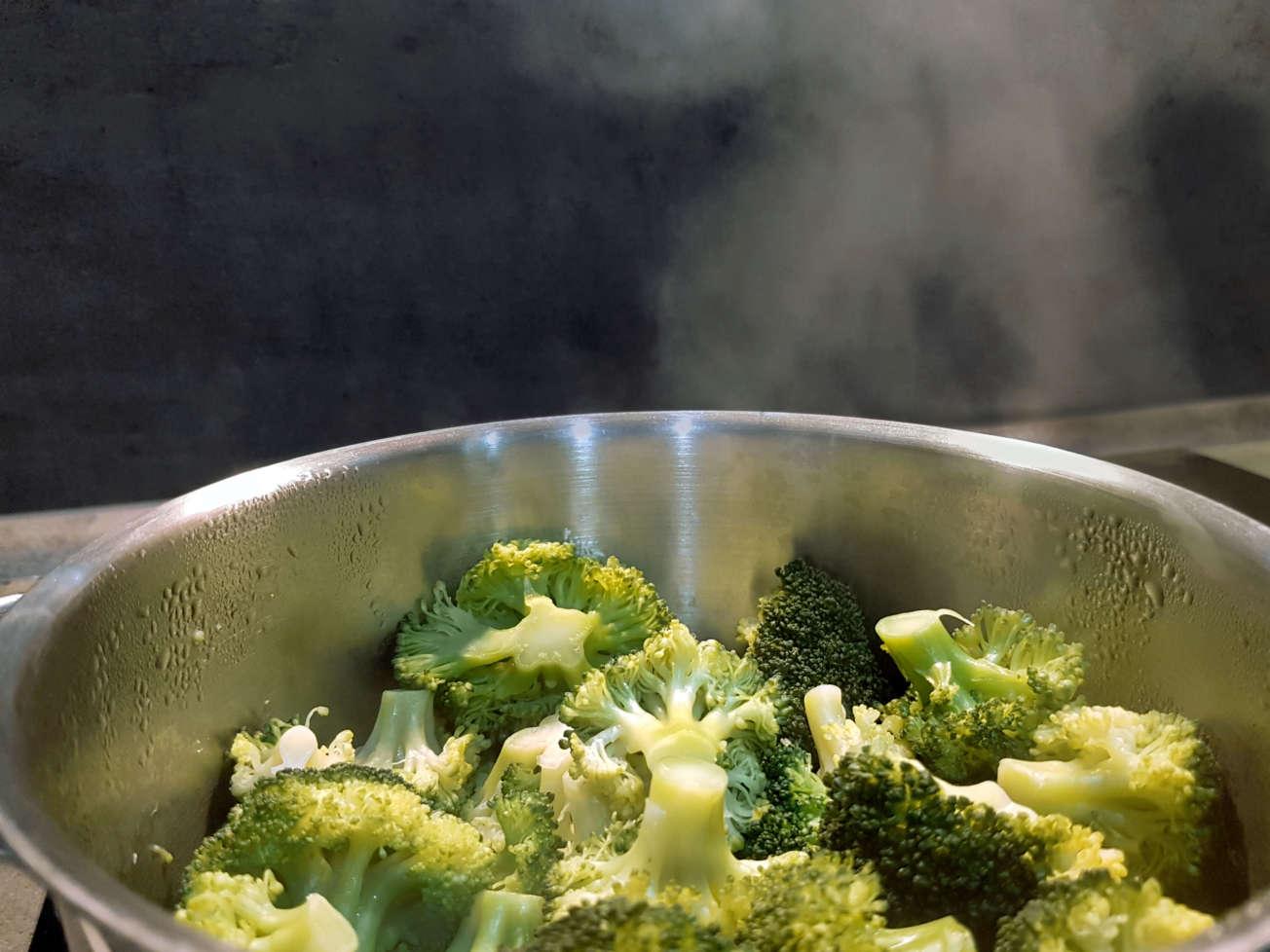 Brokolica varená na pare