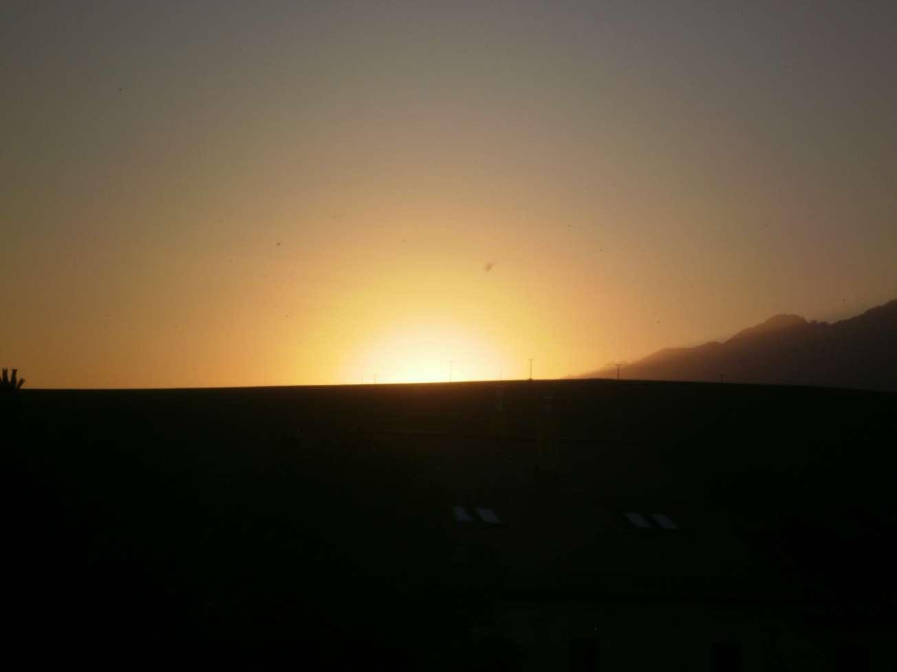 Západ slnka, alebo už zapadlo