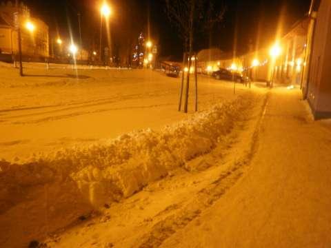 Zimné námestie