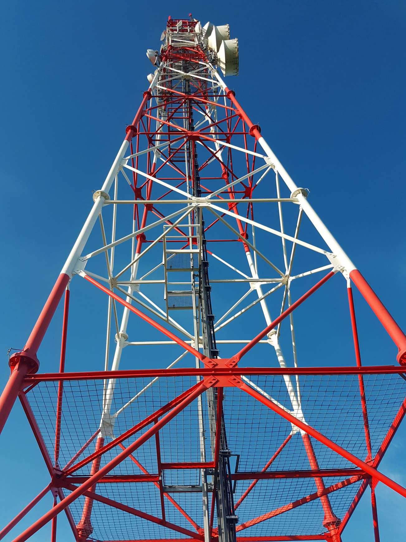 satelitný stožiar