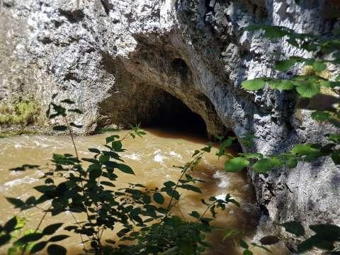 Jaskyňa v Prielome Hornádu
