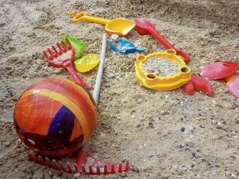 Hračky do pieskoviska