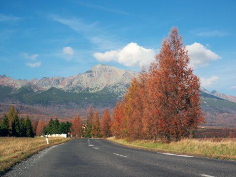 Jeseň  Vysoké Tatry
