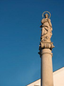 Mariánsky stĺp - Spišská Sobota