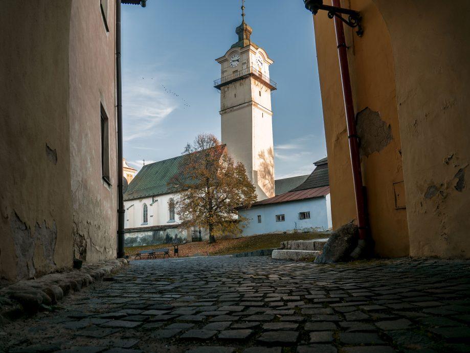 Spišská Sobota - kostol