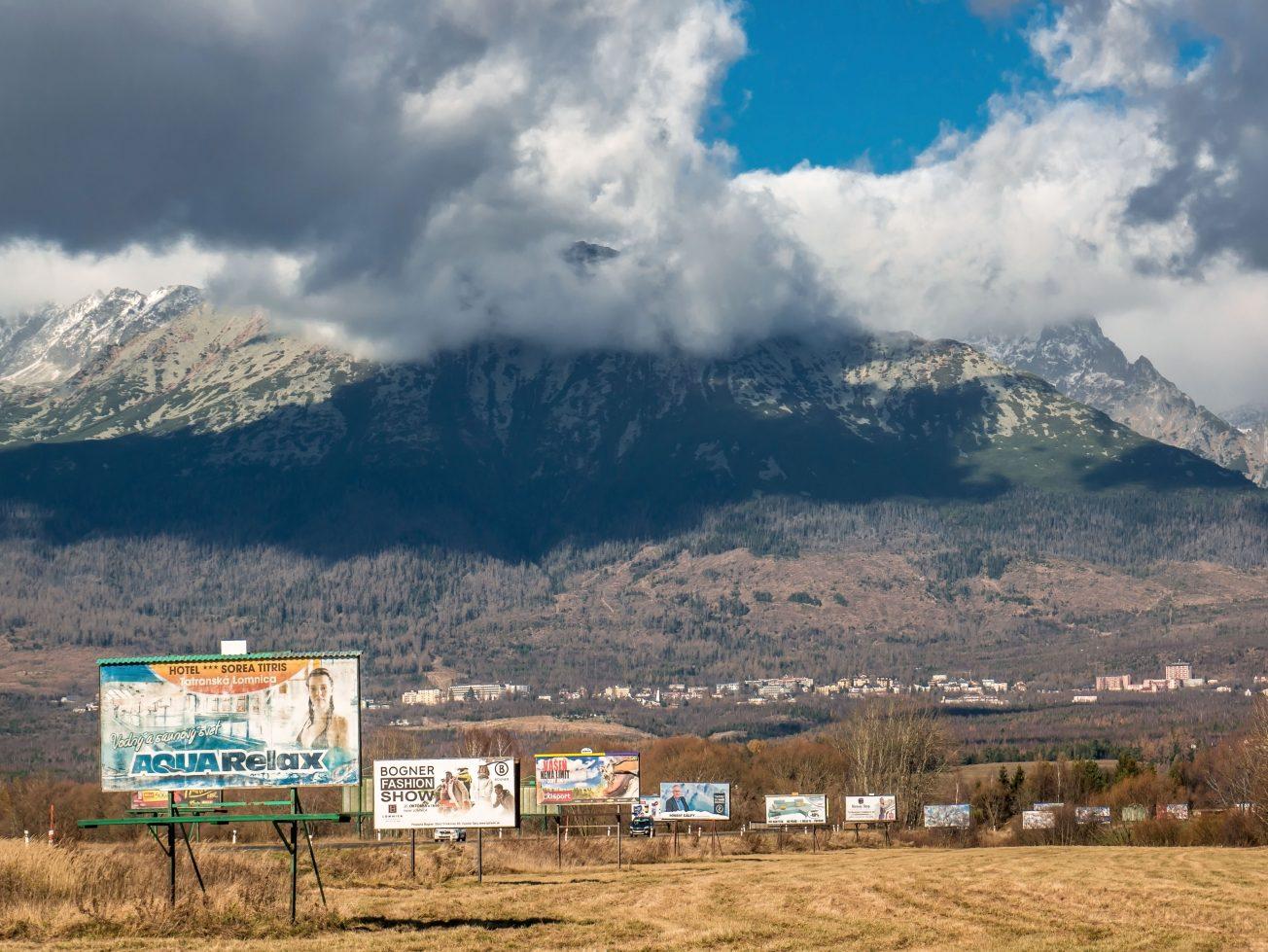 Vizuálny smog - vstup do Tatier