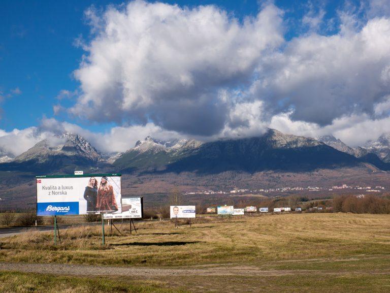 Reklamný smog na Slovensku je úplne všade