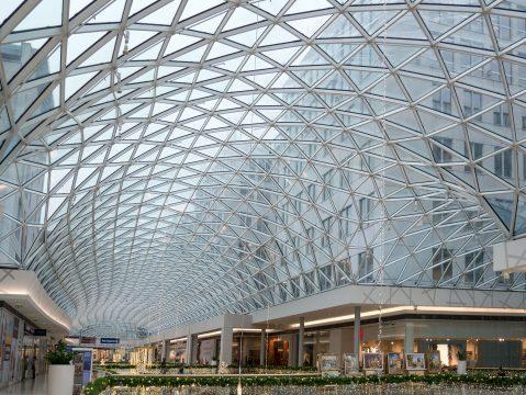 Hliníková konštrukcia sklenená strecha
