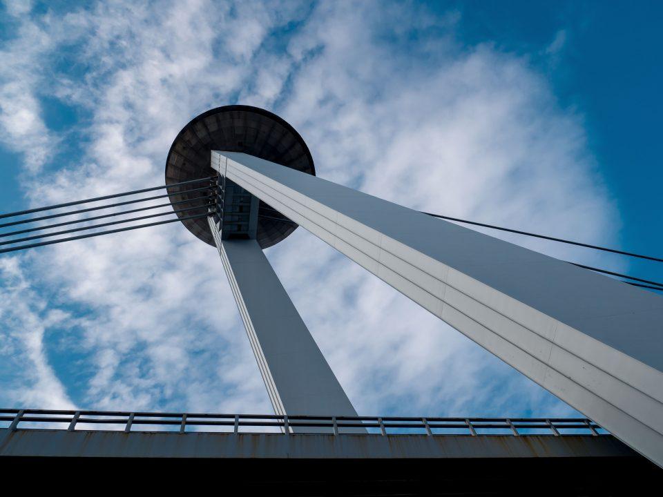 Most Slovenského národného povstania v Bratislave