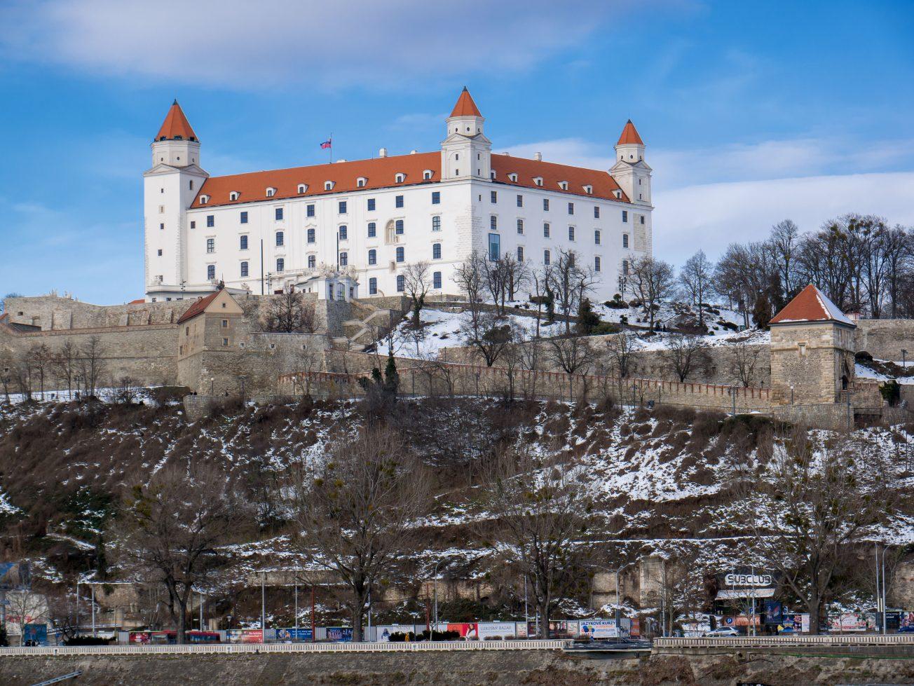 Monumentálny Bratislavský hrad
