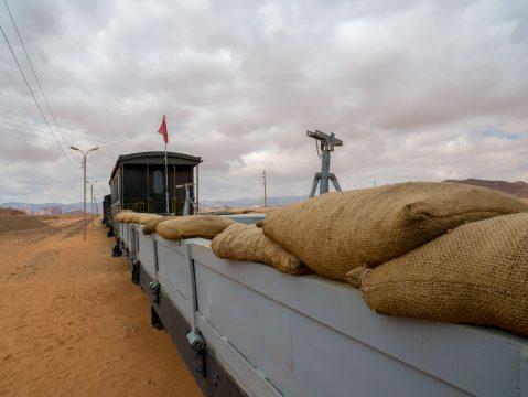 Vojenský vlak Jordánsko