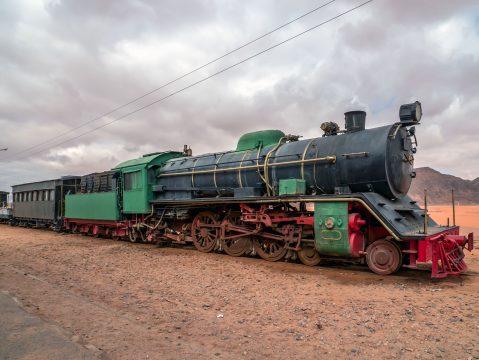 Parný vlak Al Hijaz