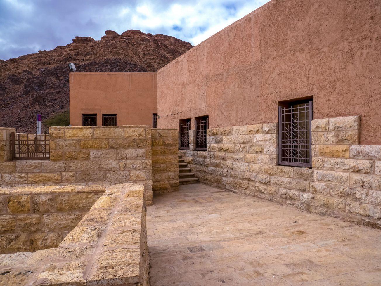 Stavba v púšti