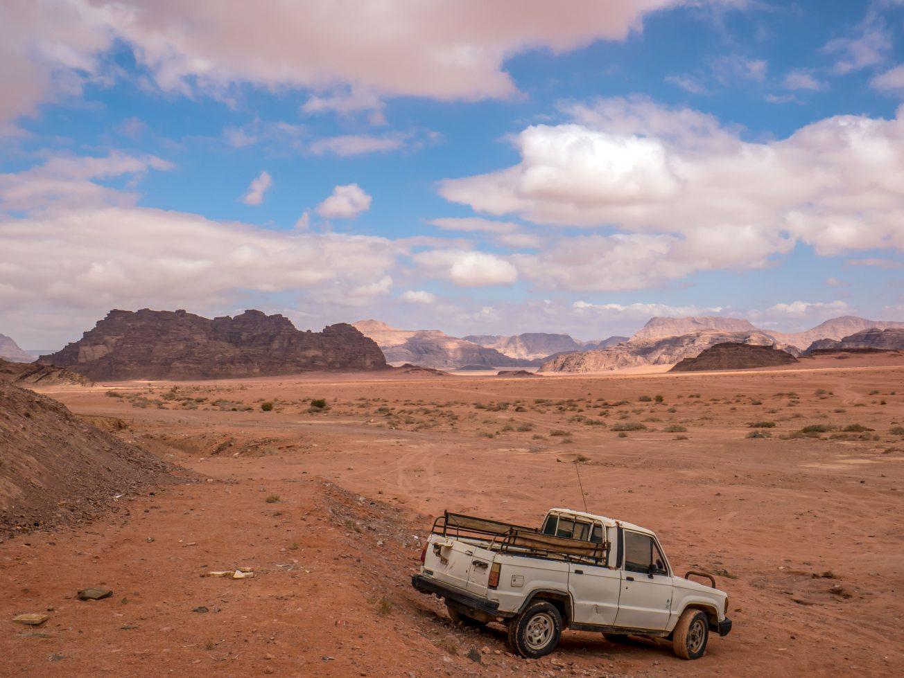 Hornatá krajina v Jordánsku