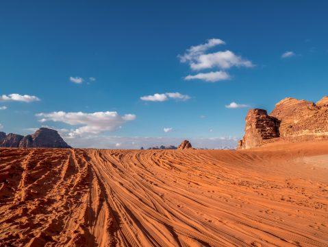 Mesačné údolie Wadi Rum