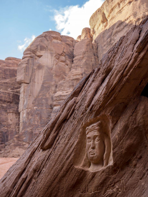 Umenie v kameňoch Lawrence z Arábie