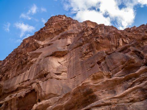 Skalný útvar v Jordánsku