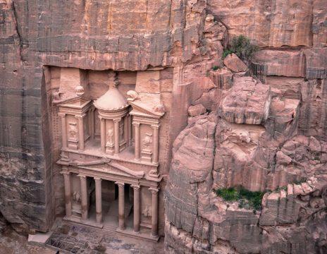 Jordánske mesto Petra