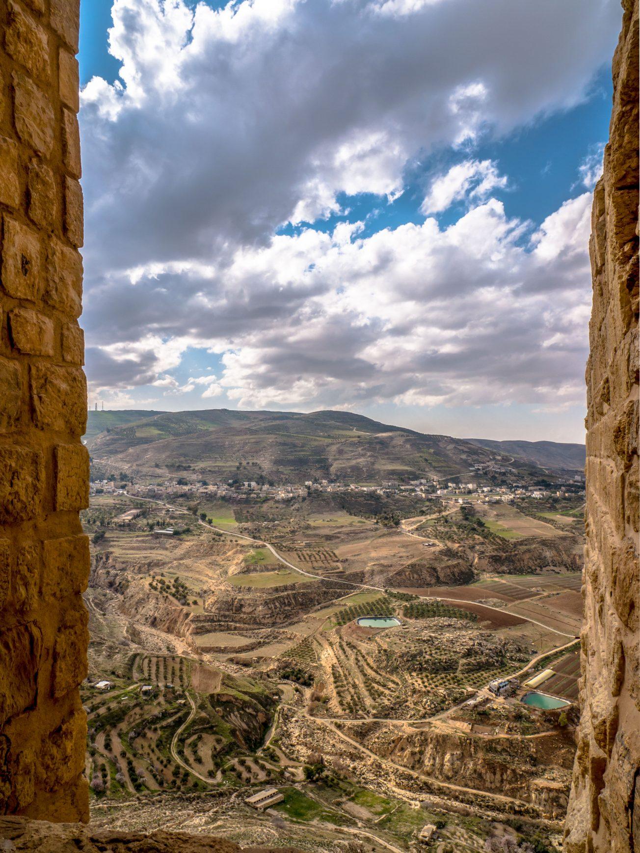Pohľad z križiackeho hradu