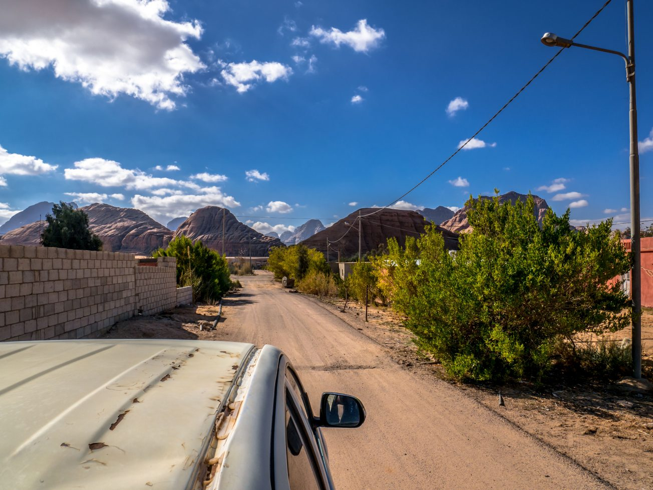 Cestovanie po Jordánsku