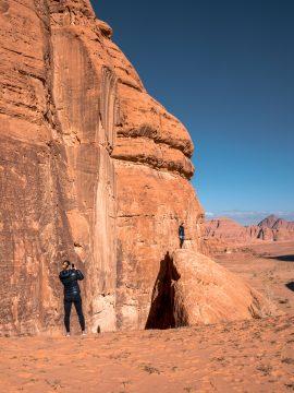 Fotenie púšť Wadi Rum