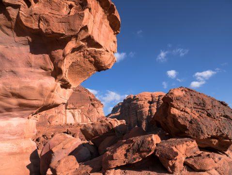 Wadi Rum - najkrajšia jordánska púšť