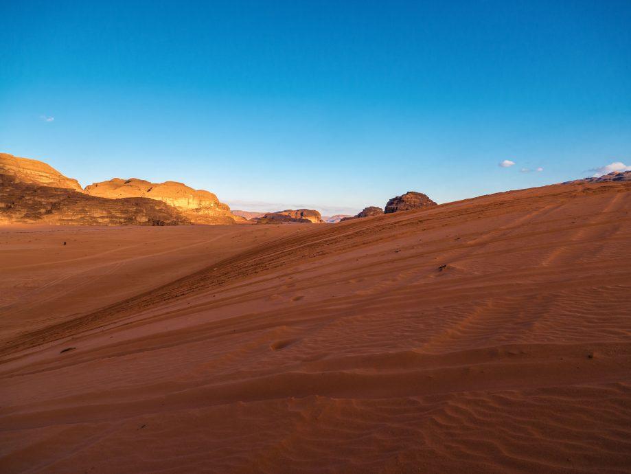 Wadi Rum: Najkrajšia jordánska púšť