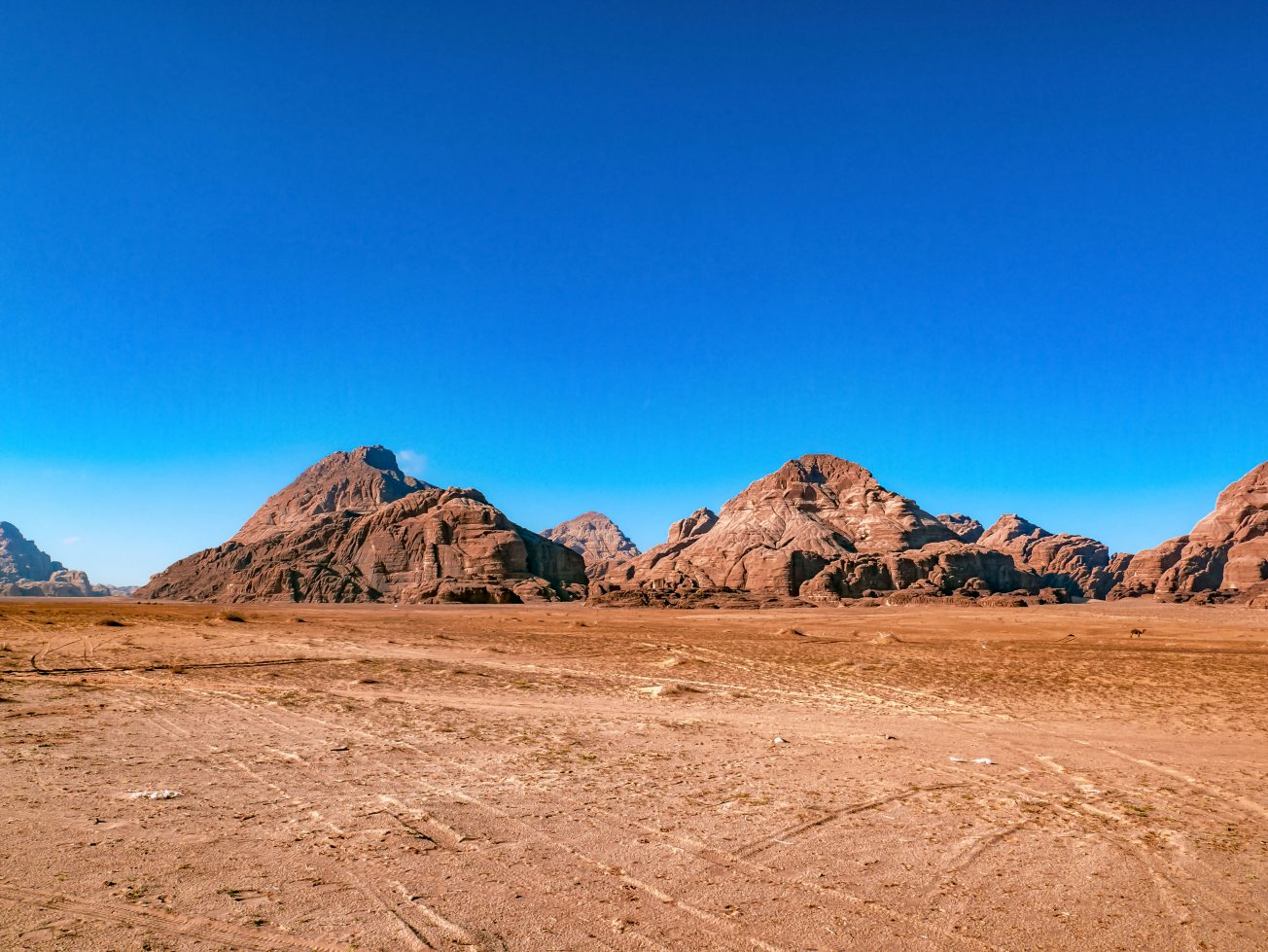 Jordánsko - púšť Wadi Rum