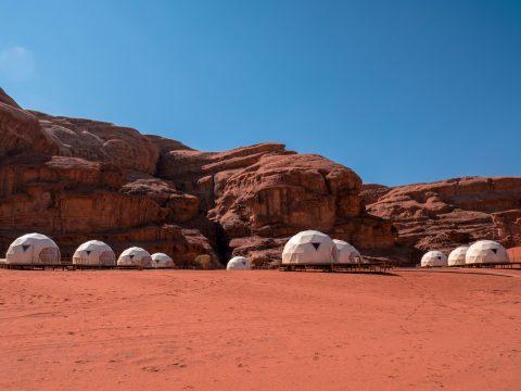 Vesmírna dovolenka v jordánskej púšti