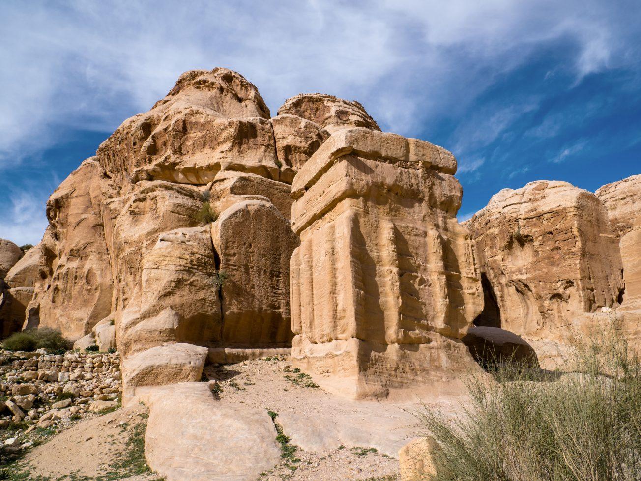 Pozostatky jordánskeho mesta