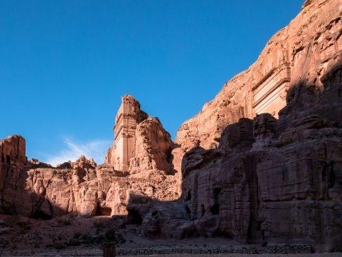 Starobylé zrúcaniny Petra