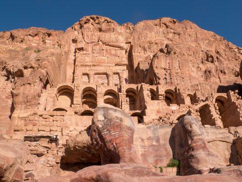 Jordánske skalné mesto Petra