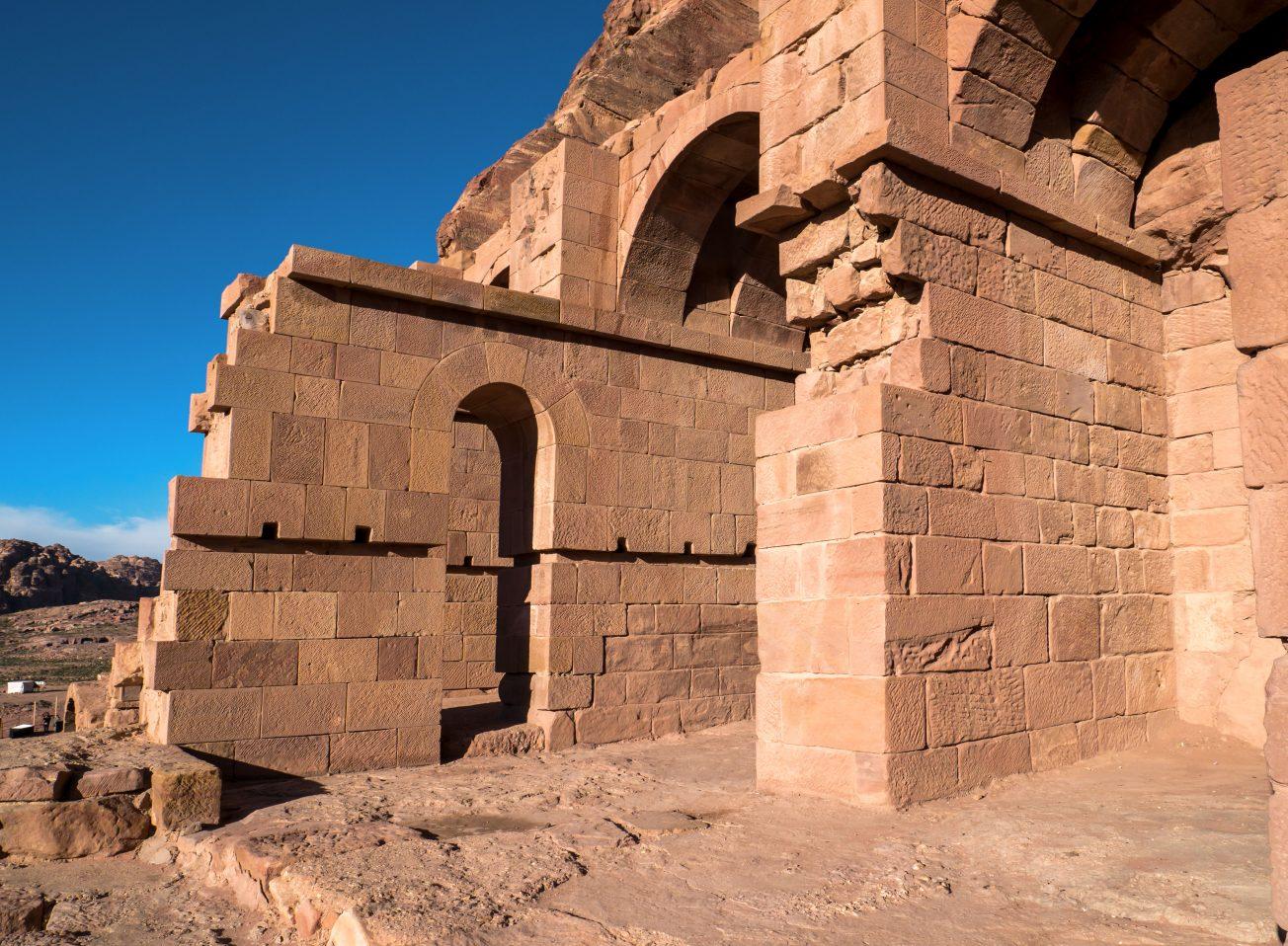 Stará architektúra v Jordánsku